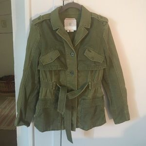 Anthropologie army Jacket/Coat